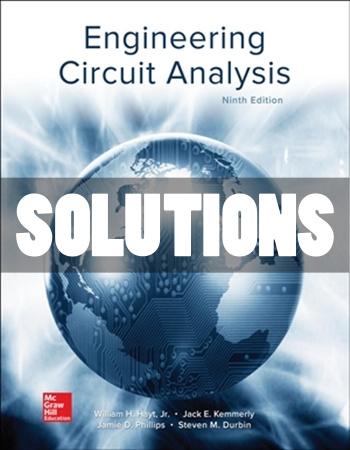 Engineering Circuit Analysis 9th Edition Hayt Solutions
