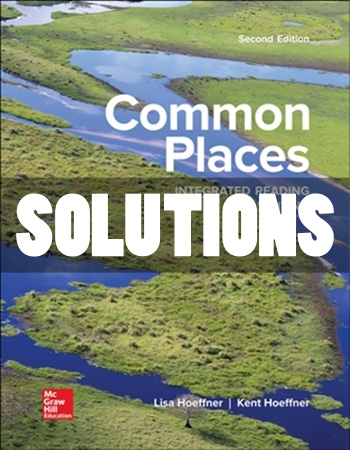 Common Places 2nd Edition Hoeffner Solutions