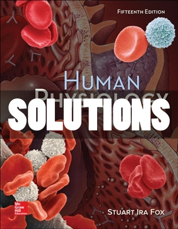 Human Physiology 15th Edition Fox Solutions